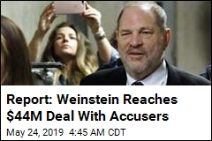 Report: Weinstein Reaches $44M Deal With Accusers
