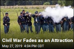 Civil War Fades as an Attraction