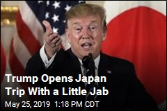Trump Opens Japan Trip by Needling His Host
