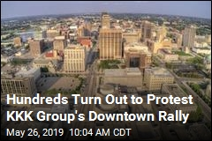 Ohio City Makes KKK Group Unwelcome at Downtown Rally