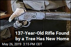 137-Year-Old Rifle Found by a Tree Has New Home