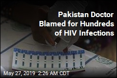 500 Children Infected With HIV in Pakistan Region