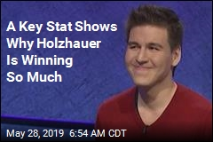 Holzhauer Scores 2nd-Biggest Jeopardy! Win