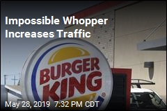 Impossible Whopper Increases Traffic
