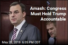 Amash Once Again Says Trump's Actions 'Are Impeachable'