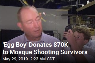 'Egg Boy' Donates $70K to Mosque Shooting Survivors