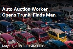 Dazed Felon Found in Trunk of Car at Auto Auction