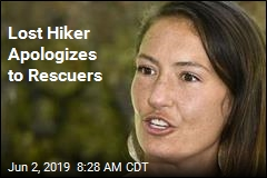 Lost Hiker Apologizes to Rescuers
