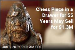 Chess Piece in a Drawer for 55 Years May Sell for $1.3M