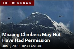 Missing Climbers May Not Have Had Permission