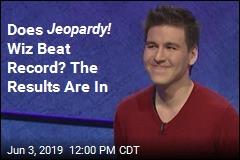 Jeopardy! Wiz Goes for Record Monday. The Results Are In