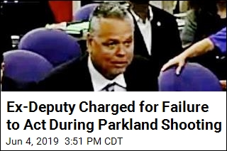 Ex-Deputy Charged With Failing to Act During Parkland Shooting
