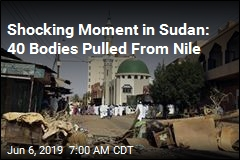 Shocking Moment in Sudan: 40 Bodies Pulled From Nile