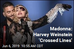 Madonna: Harvey Weinstein 'Crossed Lines'