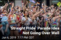 'Straight Pride' Parade Idea Not Going Over Well