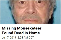 Missing Mouseketeer Found Dead in Home