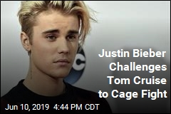 Bieber's Latest Odd Move Involves Tom Cruise, Cage Fight