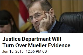 Justice Department Will Turn Over Mueller Evidence