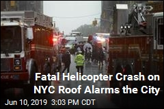 Helicopter Crashes on NYC Roof, Alarming the City