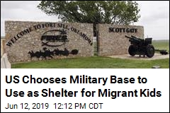Oklahoma Military Base Will House Migrant Children