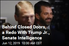Trump Jr., Senate Intelligence Meet for Round 2