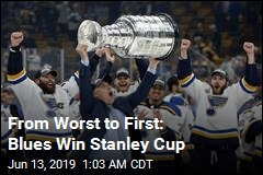 Blues Win First Stanley Cup