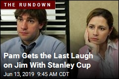 Pam Gets the Last Laugh on Jim With Stanley Cup