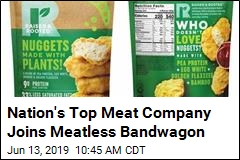Nation's Top Meat Company Joins Meatless Bandwagon