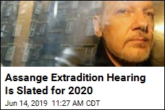 Assange Extradition Hearing Is Slated for 2020
