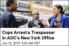 Police Bust Man Trespassing in Ocasio-Cortez's Office