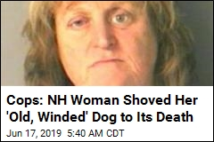 Cops: Woman Pushed Dog Into Lake, Watched It Drown