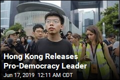 Hong Kong Releases Pro-Democracy Leader