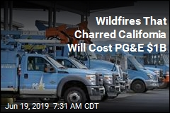 PG&E to Pony Up $1B to Calif. Cities, Counties Charred by Fires