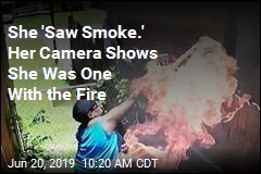 She 'Saw Smoke.' Her Camera Shows She Was One With the Fire