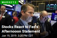 Stocks React to Fed's Afternooon Statement