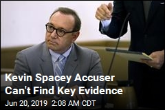 Key Evidence in Kevin Spacey Case Is Missing