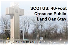SCOTUS: 40-Foot Cross on Public Land Can Stay