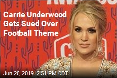 Songwriter Sues Carrie Underwood, the NFL