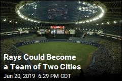 Rays Could Become a Team of Two Cities