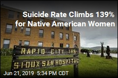 Suicide Rate Climbs Fastest for Native Americans