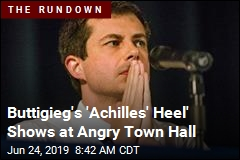 Buttigieg's 'Achilles' Heel' Shows at Angry Town Hall
