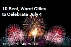 10 Best, Worst Cities to Celebrate July 4
