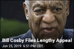 Bill Cosby Files Lengthy Appeal