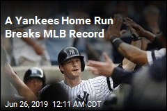Yankees Homer in Record-Breaking 28th Straight Game