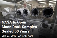 NASA to Open Moon Rock Samples Sealed 50 Years