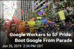 Google Workers Want SF to Boot Google From Pride Parade