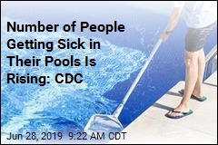 Number of People Getting Sick in Their Pools Is Rising: CDC