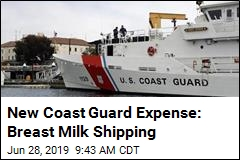 New Coast Guard Expense: Breast Milk Shipping