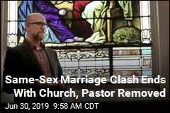 Denomination Boots Church, Pastor over Same-Sex Marriage