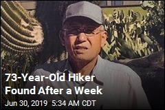 73-Year-Old Hiker Found After a Week
